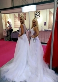 bridal models for exhibitions in London