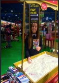product demonstration staff at Excel London