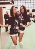 exhibition hostesses Excel London