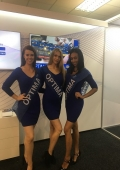 event hostesses ICE Gaming Show, London Excel