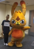hire mascot performers Excel London