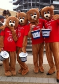 mascot performers London Olympia