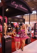lingerie models london exhibtion