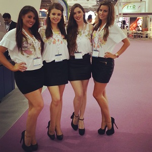 hire promo models at Excel, London