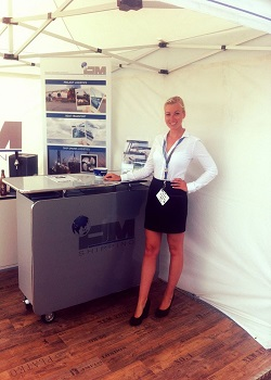 hire staff for the London Boat Show