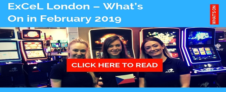 ExCeL London – What's On in February HIRE STAFF