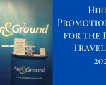 Hiring Promotional Staff for the Business Travel Show 2020