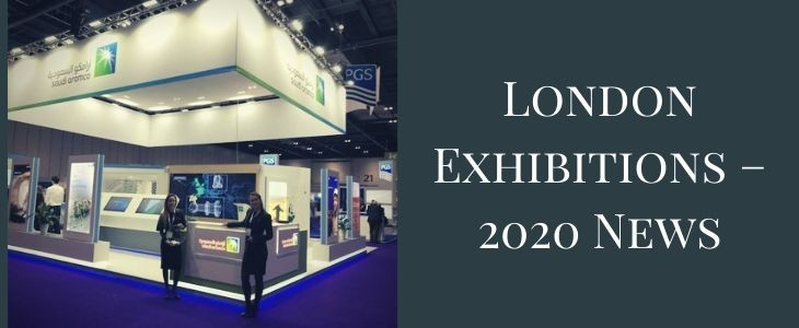 London Exhibitions – 2020 News