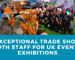 Hire Exceptional Trade Show and Booth Staff for UK Events & Exhibitions