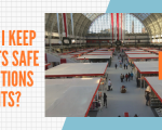 How can I keep my guests safe at Exhibitions and Events?
