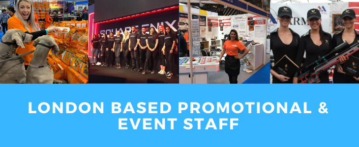 London Based Promotional & Event Staff