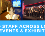 Hiring staff for exhibitions & events in London